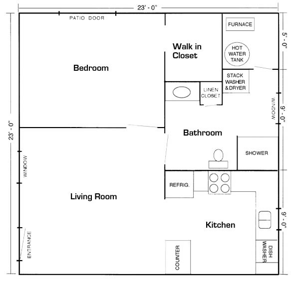 Gallery Basement in law suite floor plans
