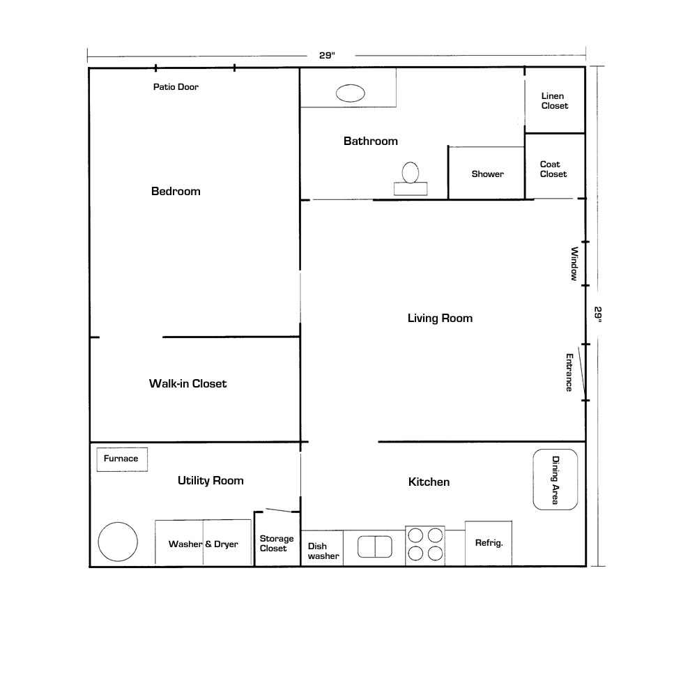 Mother in law suite floor plans Basement in law suite floor plans