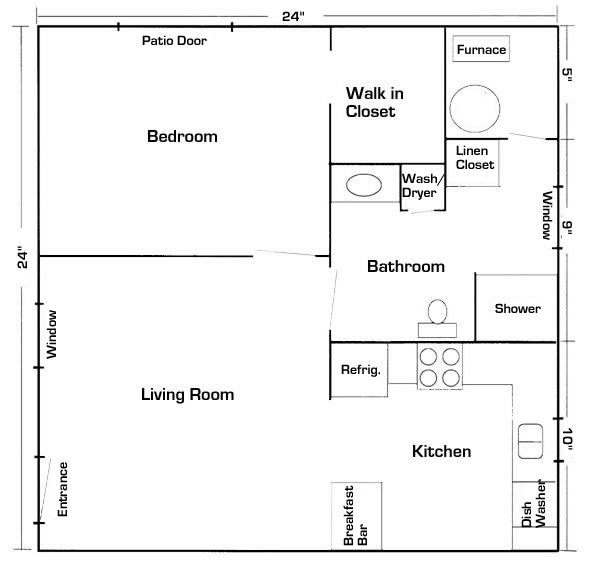 Mother In Law Suite Garage Floor Plan