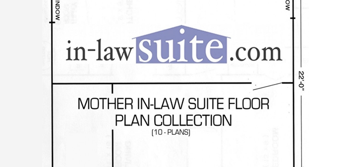 Smart placement in law suite addition floor plans ideas for Floor plans for in law suite addition