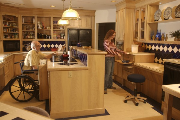 Mother in law apartment kitchen design Kitchen design for elderly