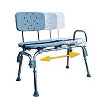 Sliding Swivel Seat Transfer Bench