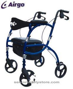 Airgo Navigator: Light Weight Rollator and Transport Chair
