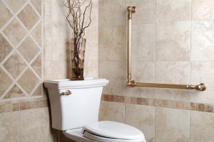 How to install grab bars in the bathrooom