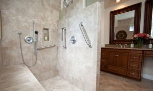 Accessible shower requirements