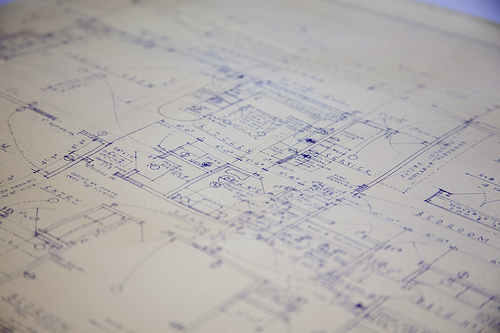 blueprints photo